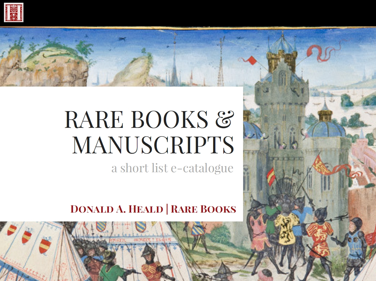 Rare Books & Manuscripts, December 2016