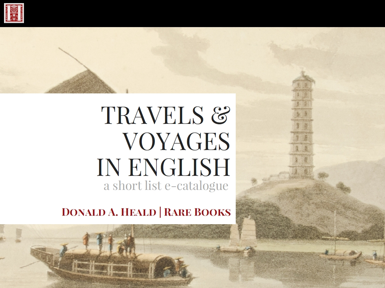 Travels & Voyages in English