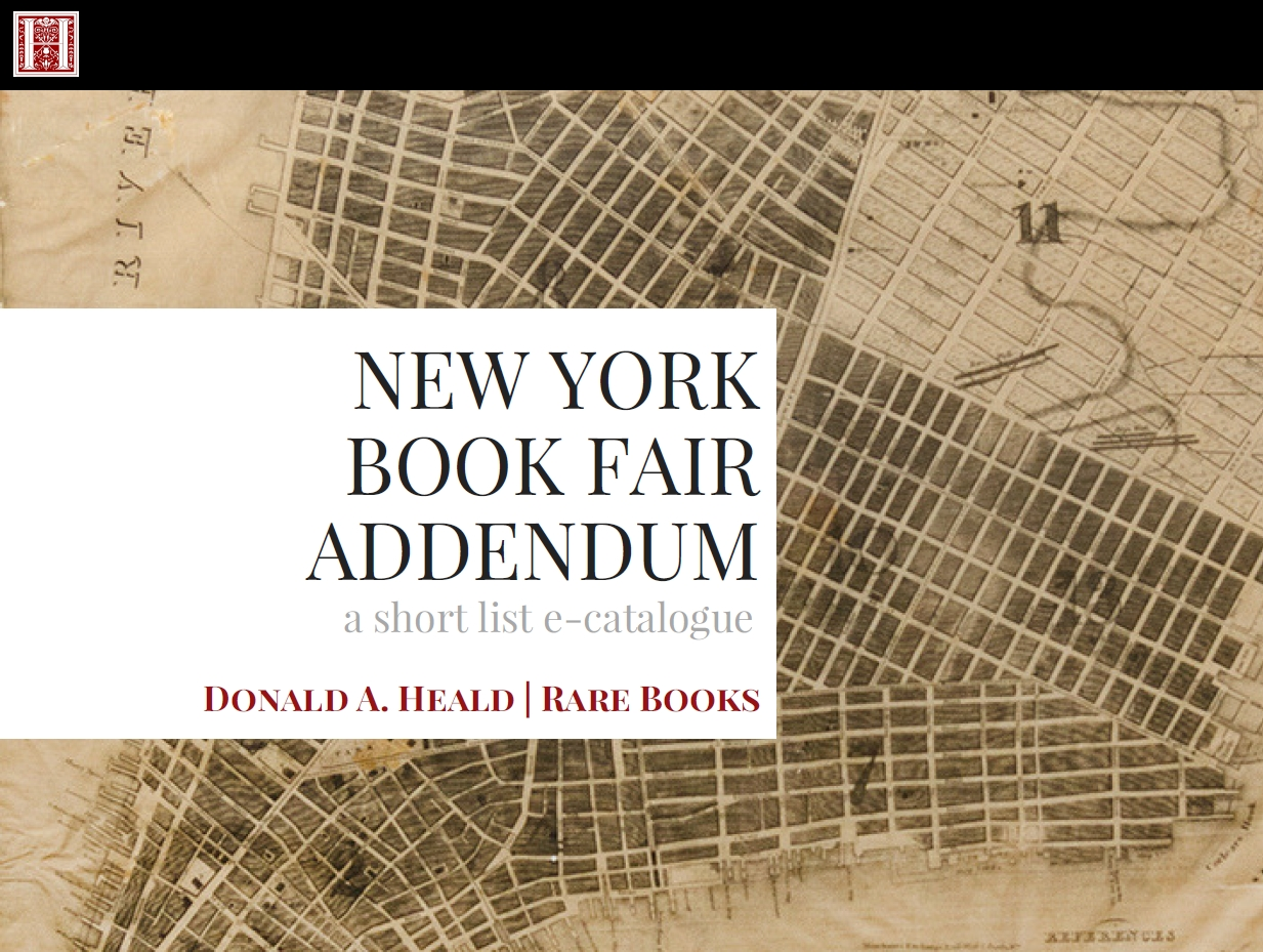 New York Book Fair Addendum