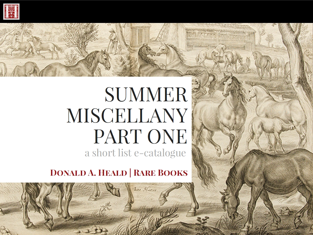Summer Miscellany, Part One