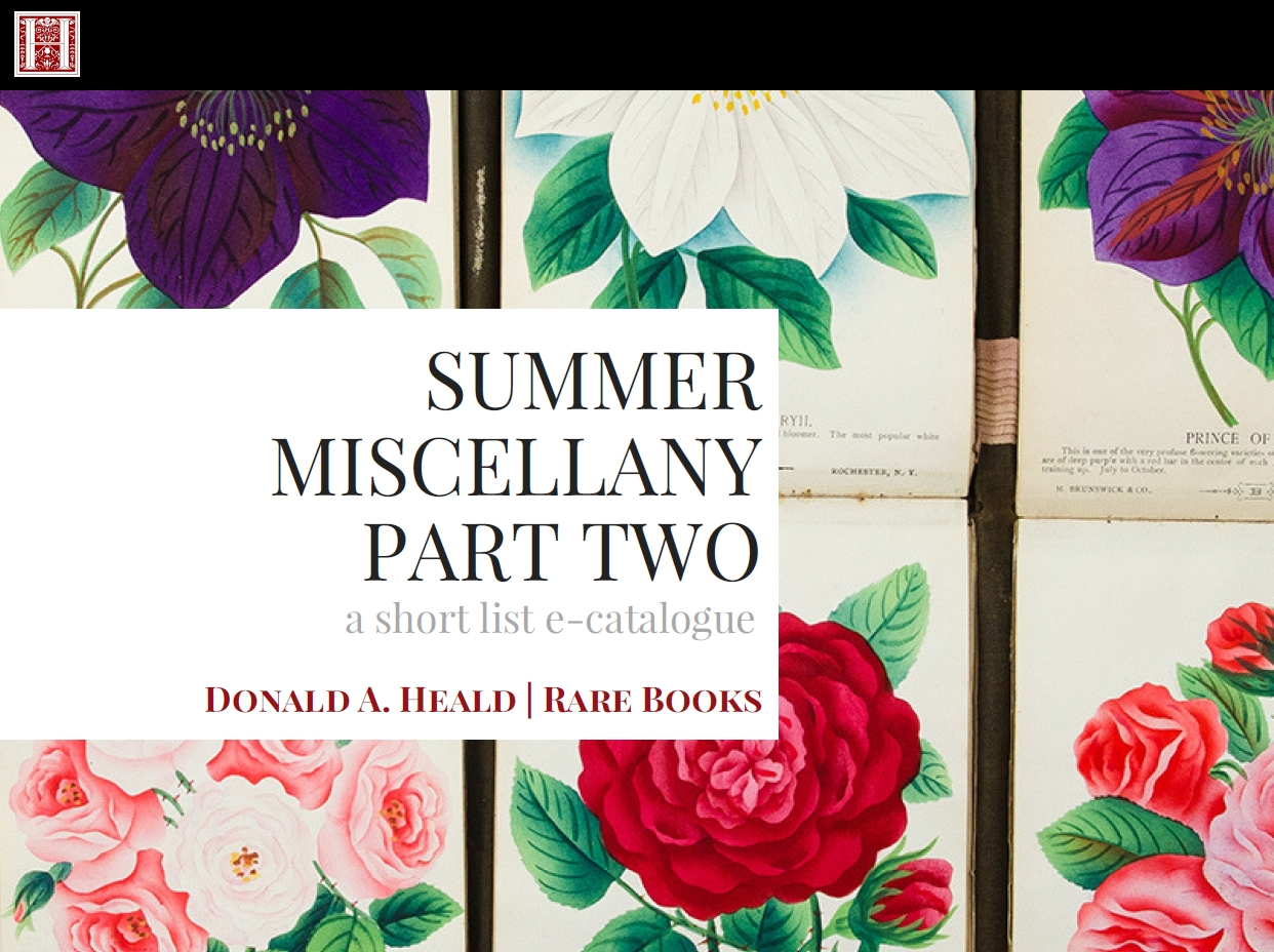 Summer Miscellany, Part Two