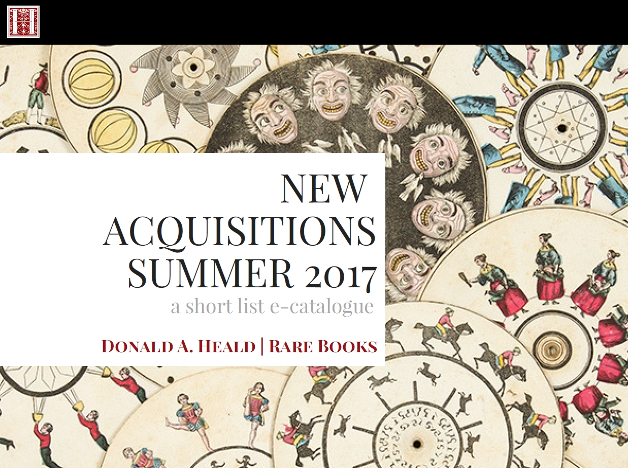New Acquisitions, Summer 2017