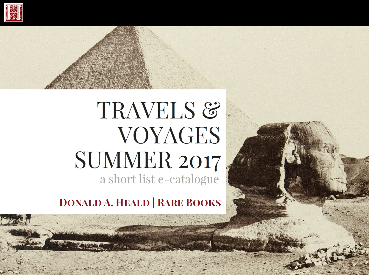 Travels & Voyages, Summer 2017