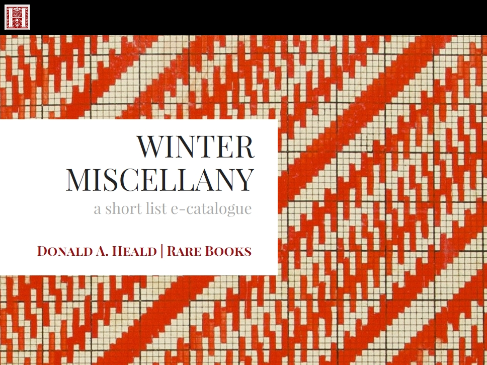 Winter Miscellany - January 2018