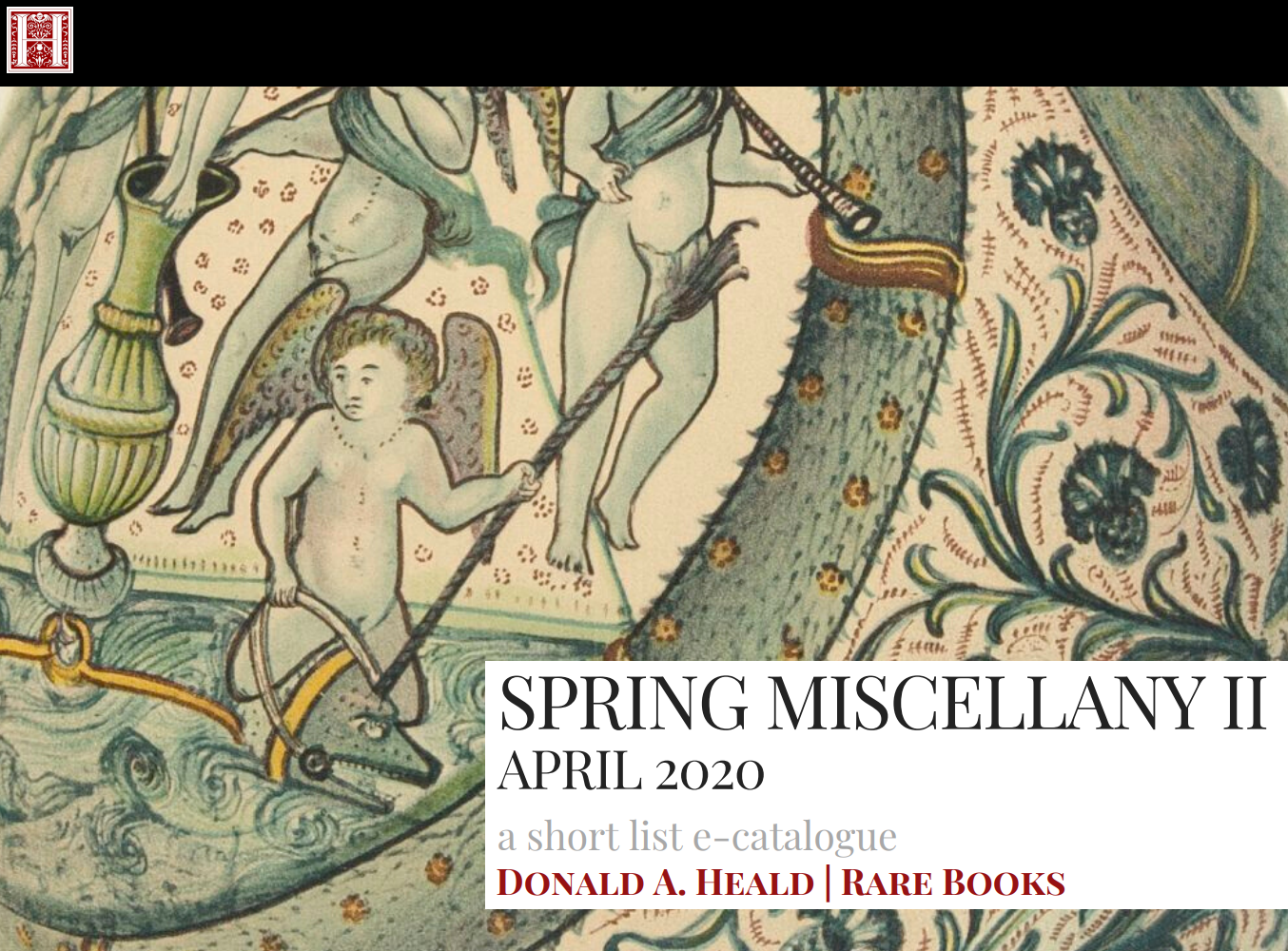 Spring Miscellany Part II - April 2020