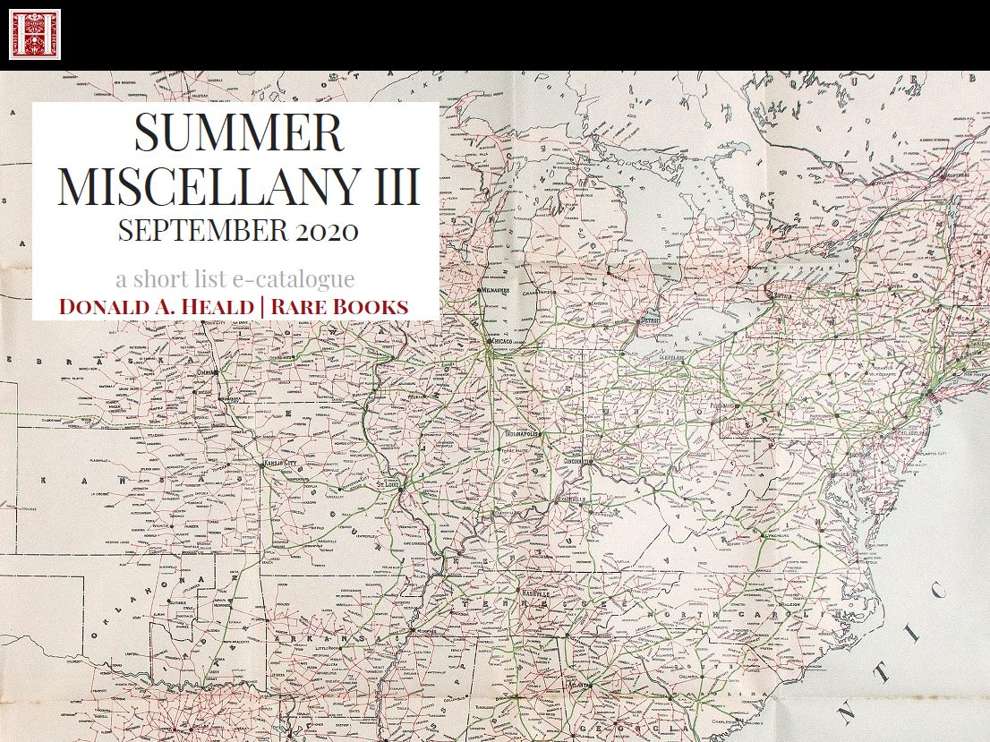 Summer Miscellany Part III September 2020