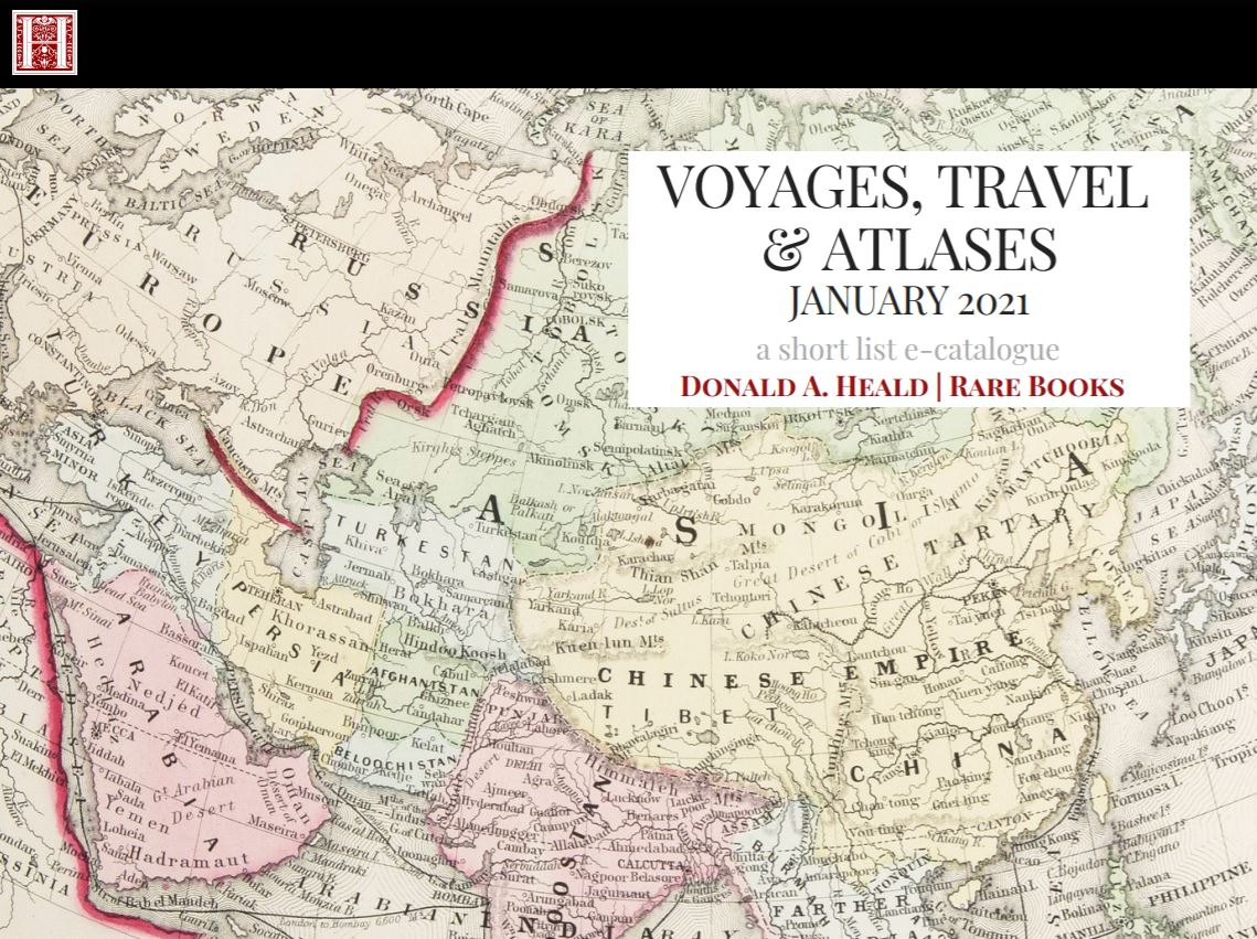 Voyages, Travel & Atlases January 2021