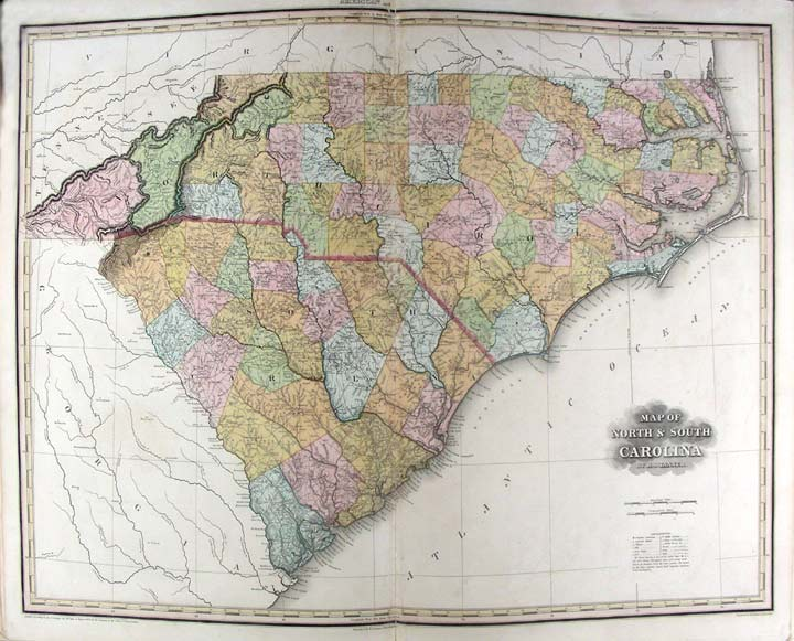 A New American Atlas containing Maps of the Several States of the