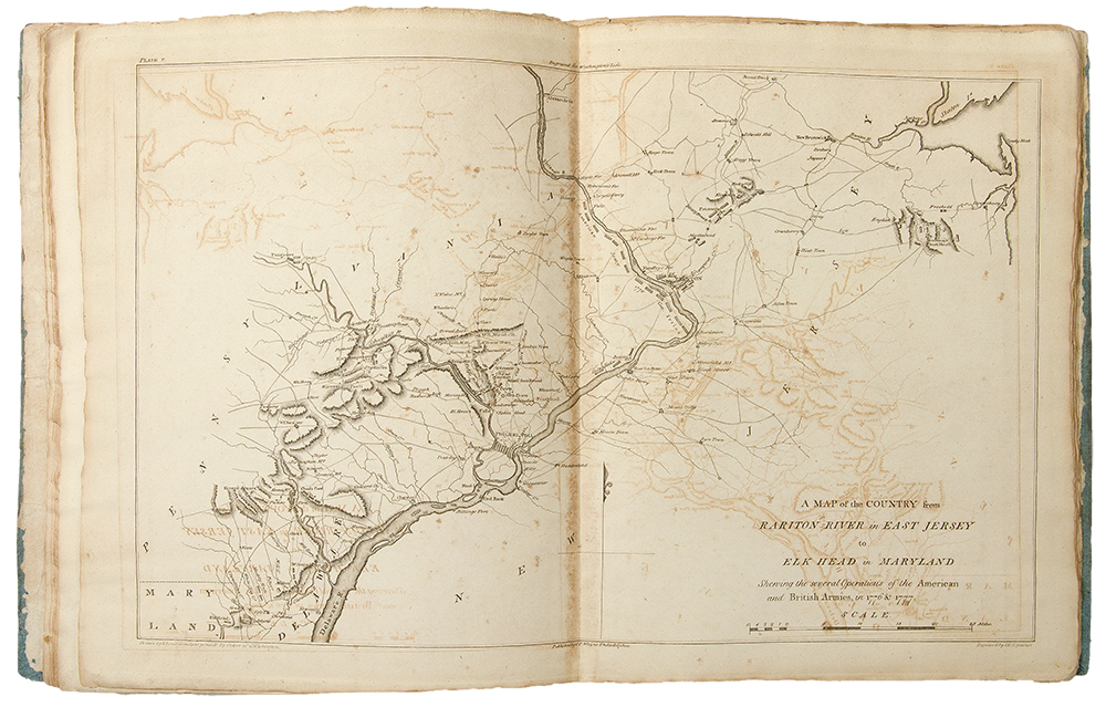 The Life Of George Washington Commander In Chief Of The American - Map of us when george washington was president
