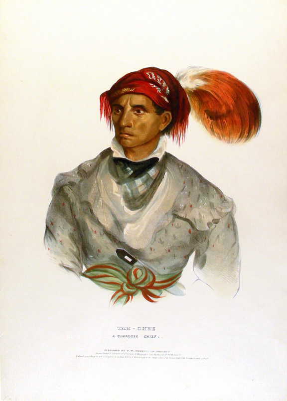 Tah-Chee, a Cherokee Chief. Thomas L. MCKENNEY, James HALL.