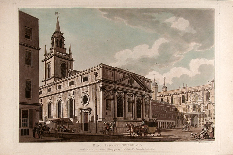 King Street Guildhall. Thomas MALTON.
