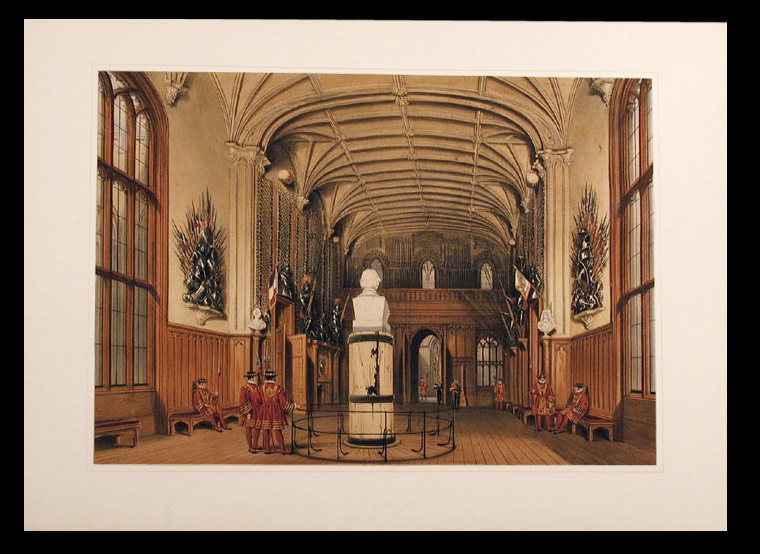 [The Guard Chamber, Windsor Castle. After Joseph NASH.