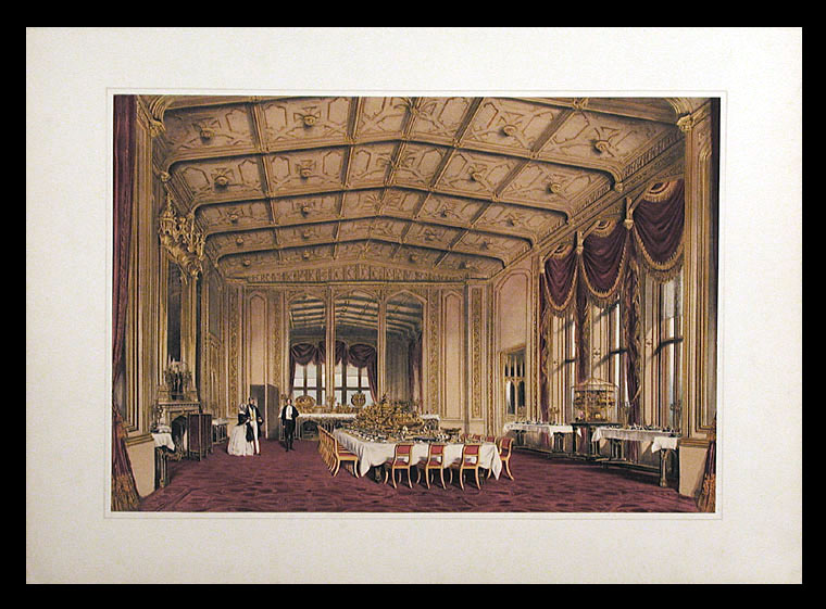 [The Private Dining-Room, Windsor Castle. After Joseph NASH.