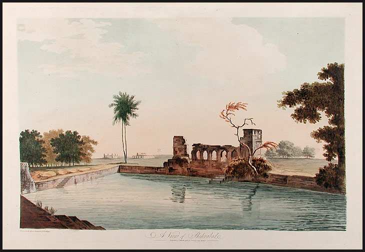 A View of Shekoabad. William HODGES.