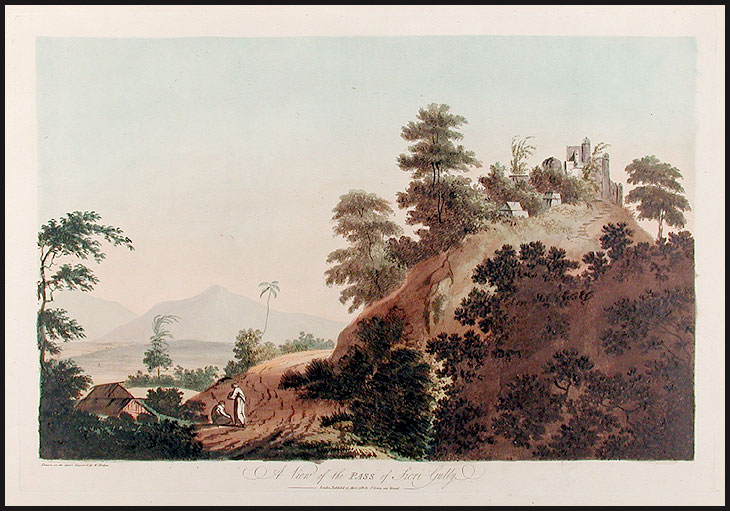 A View of the Pass of Sicri Gully. William HODGES.