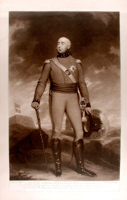 His Royal Highness Edward Duke of Kent and Strathearn. William after Sir William BEECHEY SAY.