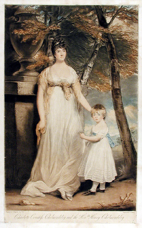 Charlotte Countess of Cholmondeley and the Hon. Henry Cholmondeley. Charles after J. HOPPNER TURNER.