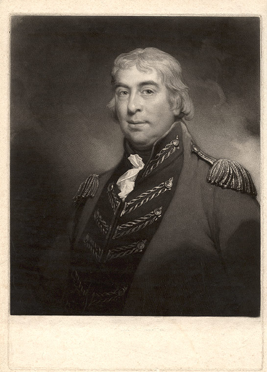 [George Lord Harris] (1st Baron Harris). Samuel William REYNOLDS, after A. W. DEVIS.