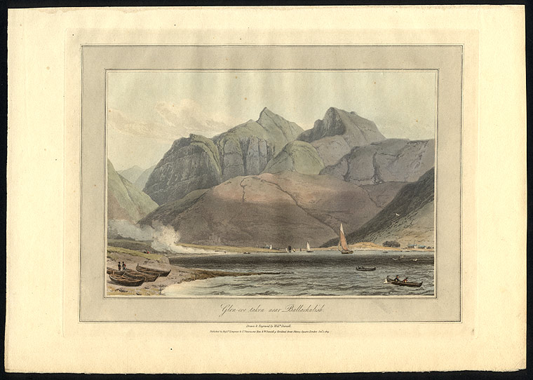 Glen-coe taken near Ballachulish. William DANIELL.