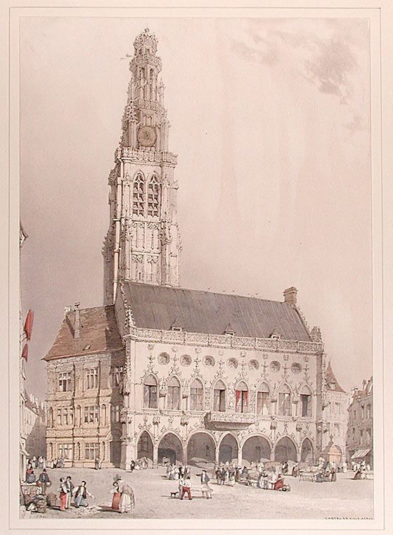 Hotel de Ville, Arras. Thomas SHOTTER BOYS.