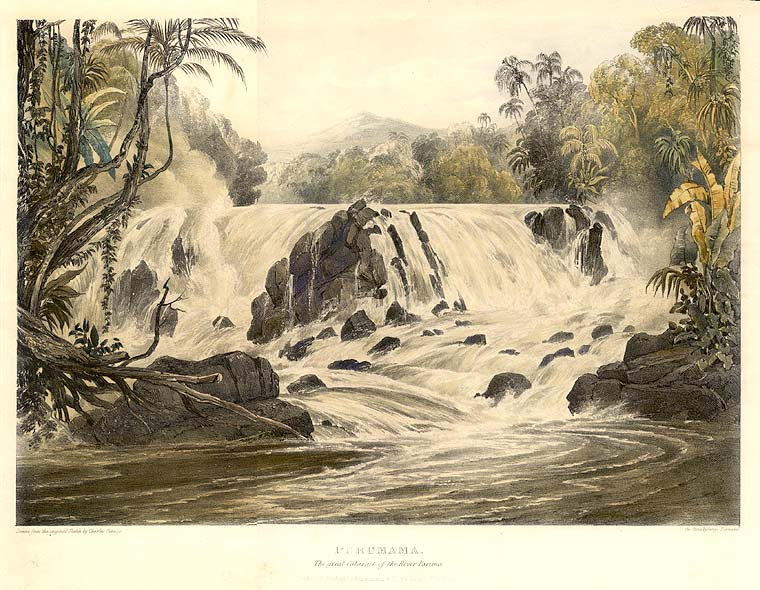 Purumama / The Great Cataract of the River Parima. Sir Robert Herman SCHOMBURGK.