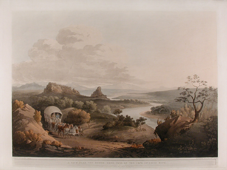 A View near the Roode Sand Pass at the Cape of Good Hope. Henry SALT.
