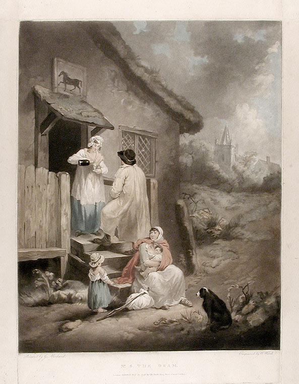 No. 6. The Dram. William after George MORLAND WARD.