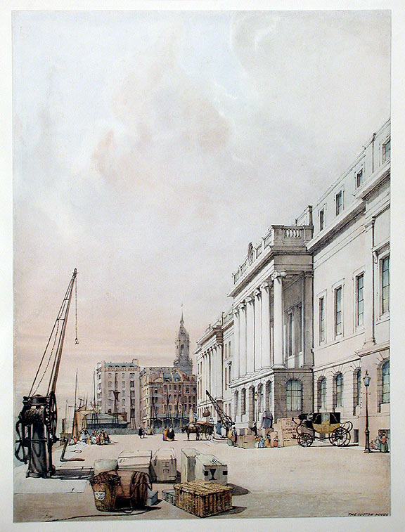The Custom House. Thomas SHOTTER BOYS.