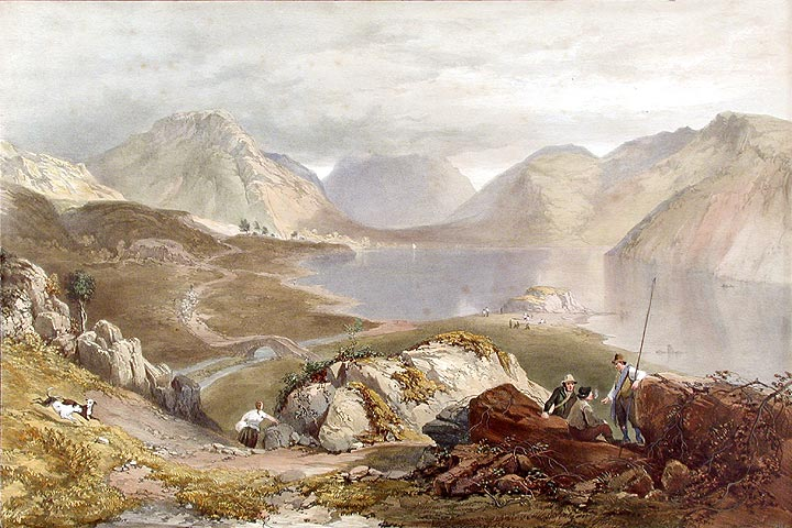 Wast Water. James Baker PYNE, W. GAUCI.