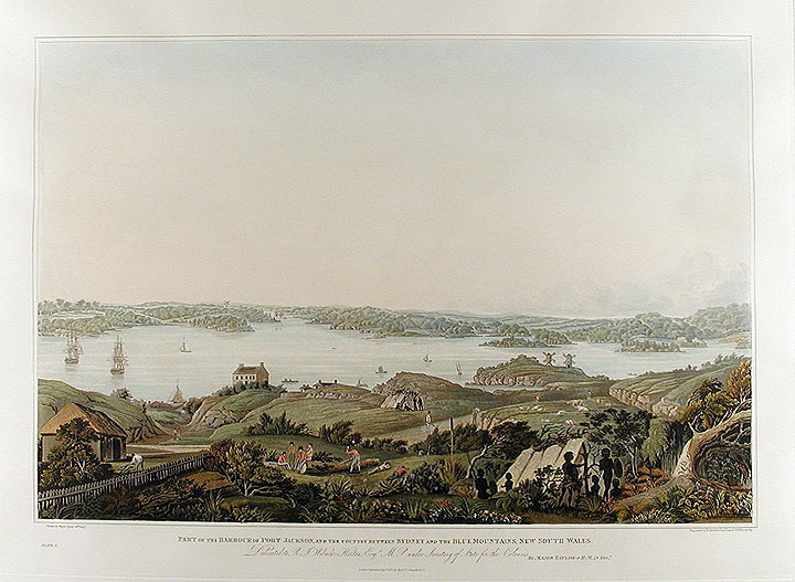 Part of the Harbour of Port Jackson, and the Country between Sydney and the Blue Mountains, New South Wales. James TAYLOR, of his Majesty's 48th Regiment of Foot Major.