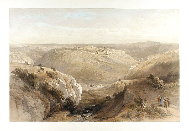 [Jerusalem from the South] April 12th, 1839. David ROBERTS.