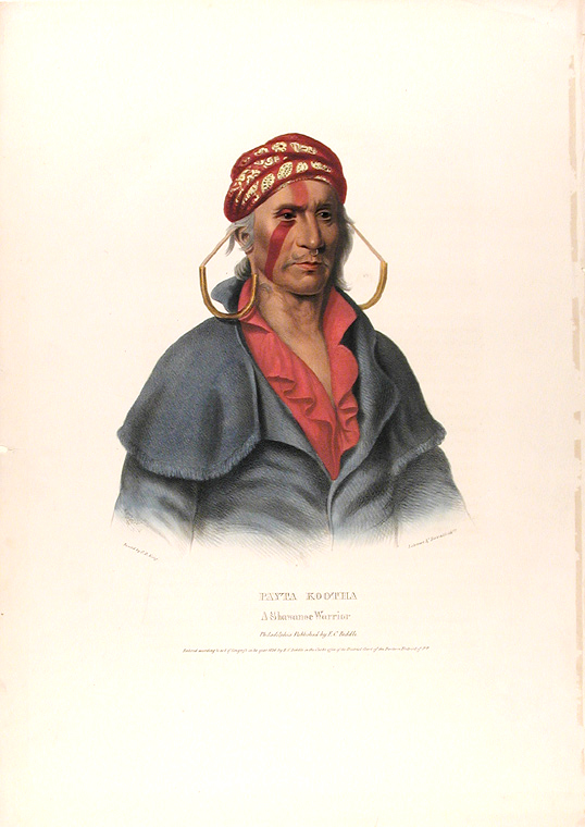 Payta Kootha A Shawanee Warrior. Thomas L. MCKENNEY, James HALL.