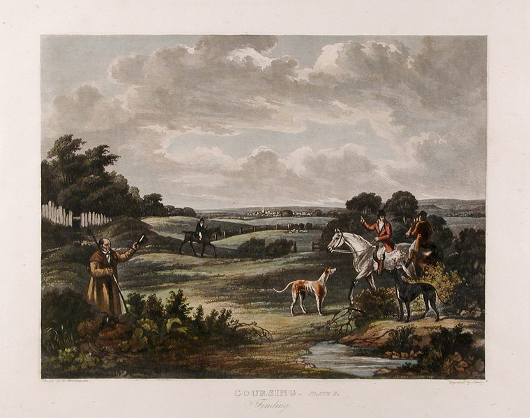 Coursing. Finding (Plate 2). S. after Dean WOLSTENHOLME HIMLEY.
