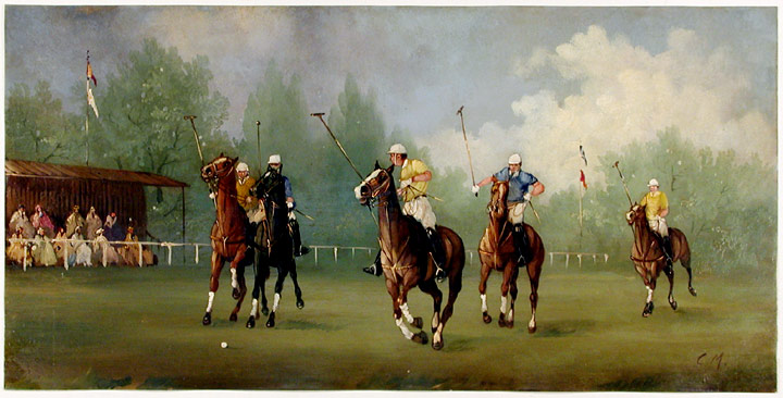 Edwardian Polo Match. Marco CERI.
