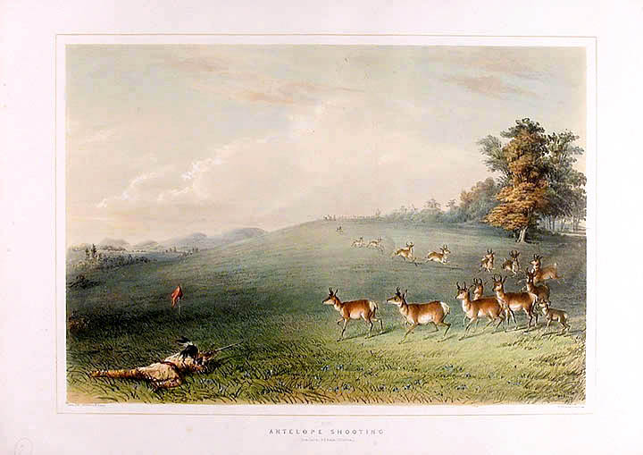 Antelope Shooting. George CATLIN.