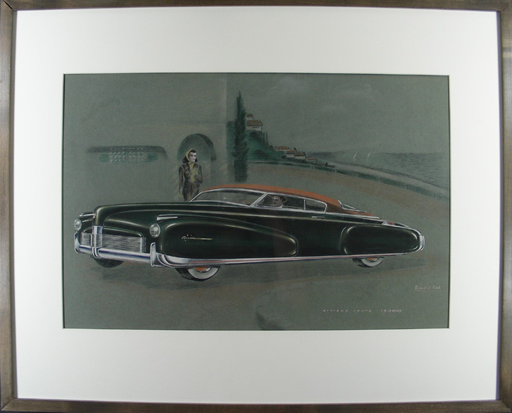 """Riviera Coupe"" Concept Art. Richard H. ARBIB."