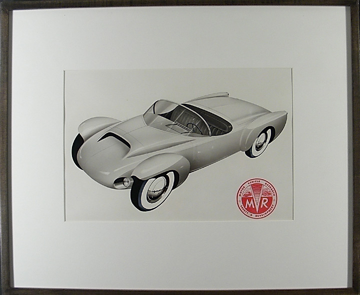 Sports Car prototype. A. J. WHITE MOTOR VEHICLE RESEARCH COMPANY.