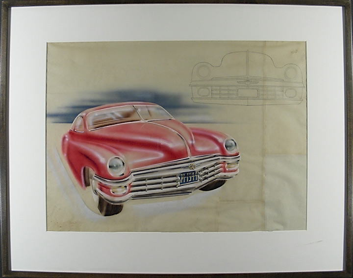 Concept Design for Cadillac. UNKNOWN.