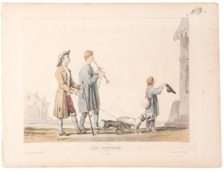 [Scenes on the road]. Carle . - Philibert Louis DEBUCOURT VERNET, artist, engraver.