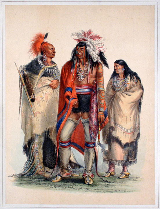 North American Indians. George CATLIN.