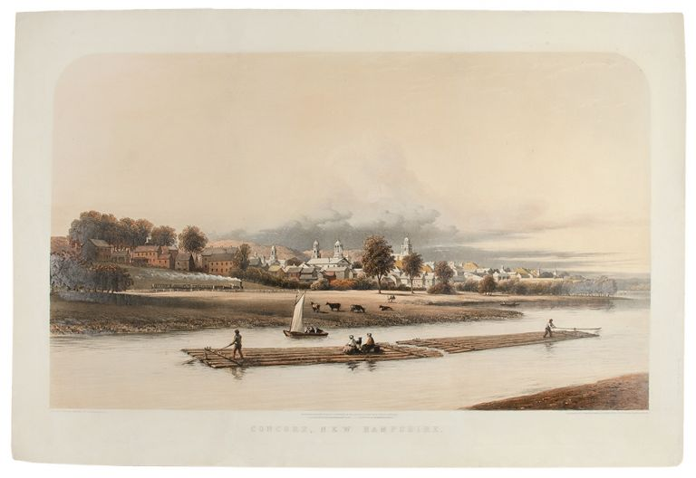 Concord, New Hampshire from an original painting by G. Harvey, A.N.A. George HARVEY.