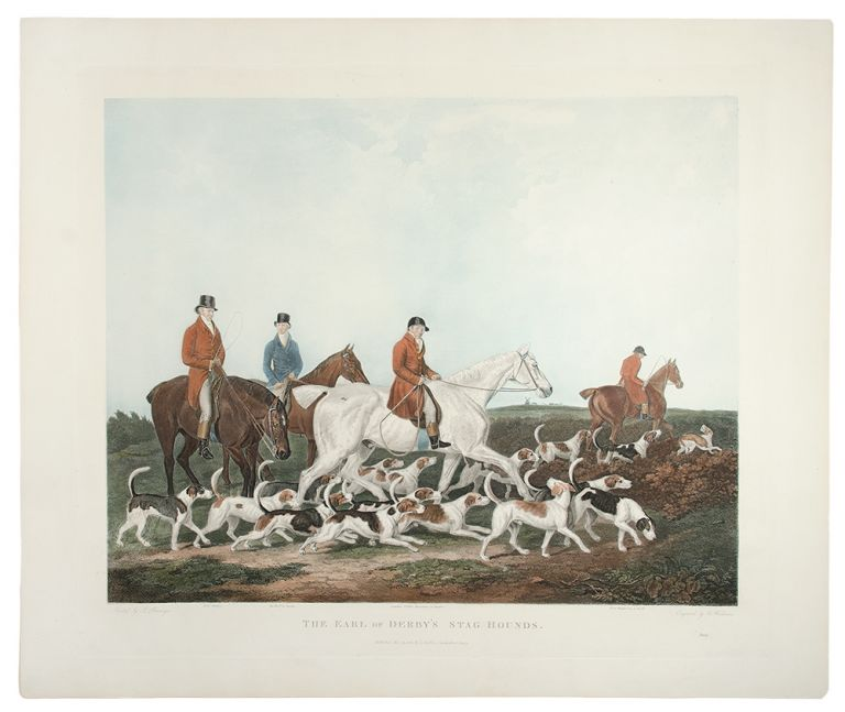 The Earl of Derby's Stag Hounds. After James BERENGER, R. WOODMAN.
