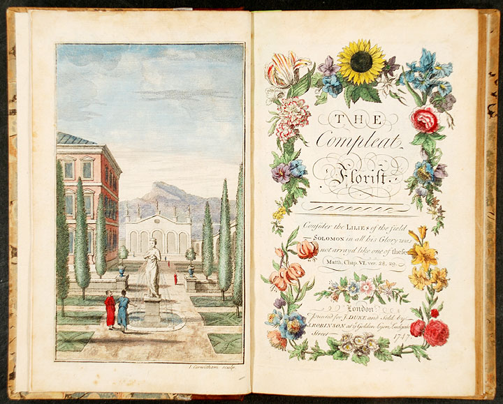 The Compleat Florist. J. DUKE, publisher.