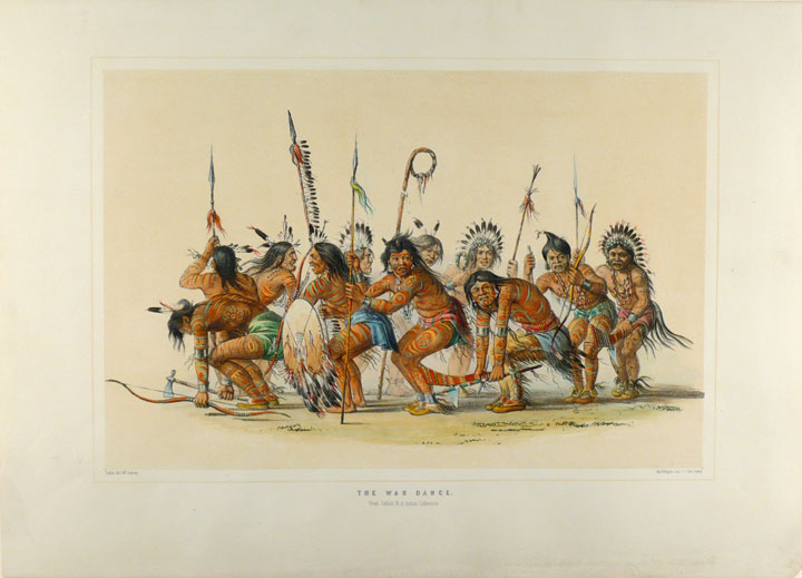 The War Dance. George CATLIN.