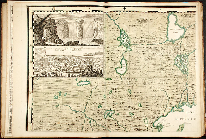 A Map of the British Empire in America with the French and Spanish settlements adjacent thereto. Henry POPPLE, d.1743.