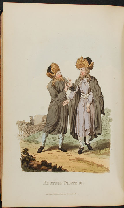 Picturesque Representations of the Dress and Manner of the Austrians. Illustrated in fifty coloured engravings, with descriptions. William ALEXANDER.