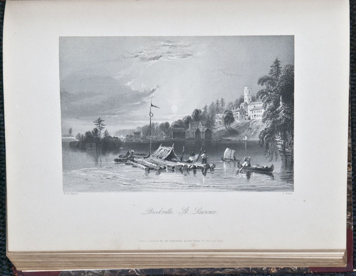 Canadian Scenery Illustrated. William Henry BARTLETT, - Nathaniel Parker WILLIS.
