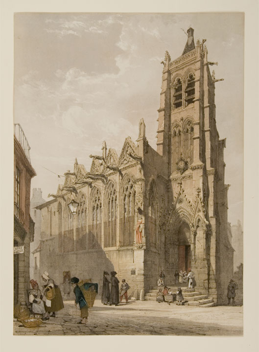 St. Severin, Paris. Thomas SHOTTER BOYS.