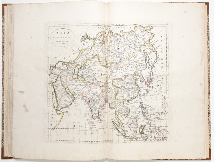 General Atlas, being a collection of Maps of the World and Quarters, their principal empires, kingdoms, &c. ... (Price 7 dollars 50 cents). Mathew CAREY.
