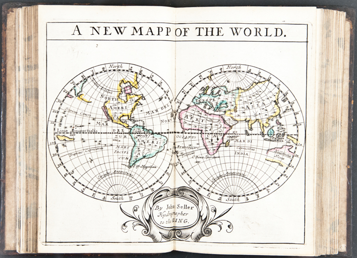 A New Systeme of Geography, designed in a most plain and easy method, for the better understanding of that science. Accommodated with new mapps, of all the ... countreys in the whole world. With geographical tables explaining the divisions in each mapp. By John Seller, hydrographer to the king]. John SELLER, fl.